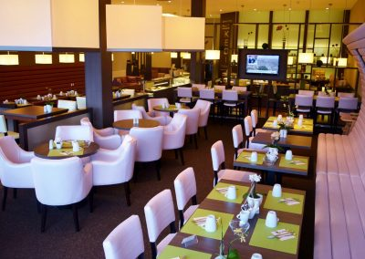 KEDI Hotel Fruehstuecksraum4